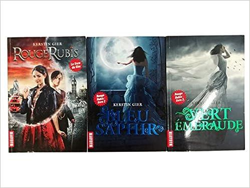 Amazon Fr Rouge Rubis Livre 1 Livre 2 Livre 3 1