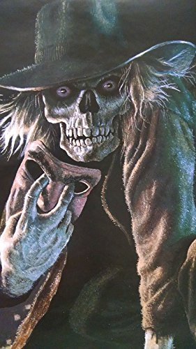 Frights Terry Oakley scary Boogeyman halloween vintage door poster (Halloween The Boogeyman)