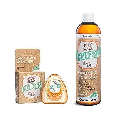 Dr. Ginger's 2 Pack Bundle | Great Coconut Mint Taste, No Harmful Chemicals or Ingredients