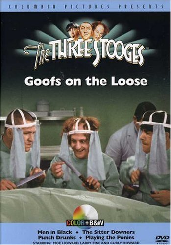 Three Stooges Goofs Loose Colorized