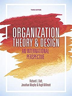 Organization theory and design an international perspective with organization theory and design an international perspective fandeluxe Images