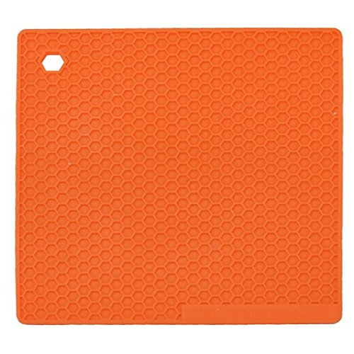 Mandy Kitchen Table Pad Tools Silicone Pot Holder Trivet Mat Heat Resistant by Mandy (Image #2)