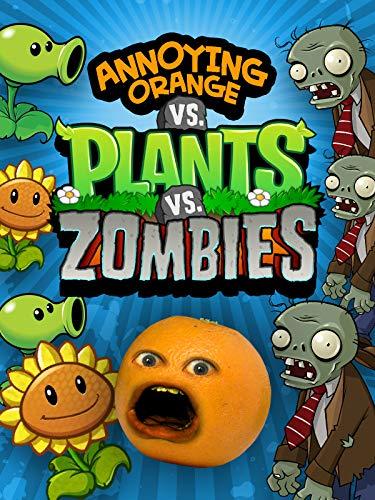 Clip: Annoying Orange vs Plants vs Zombies ()