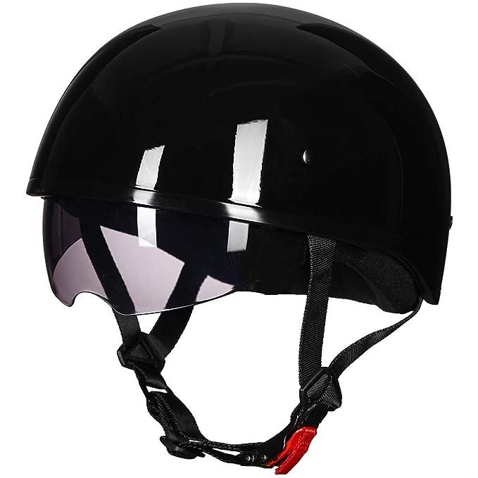 Amazon.com: ILM - Casco de motocicleta con protección solar ...