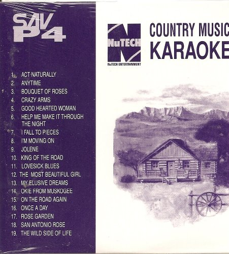 Nutech SAV-P#4 CLASSIC COUNTRY Karaoke CDG 19 Song Disk