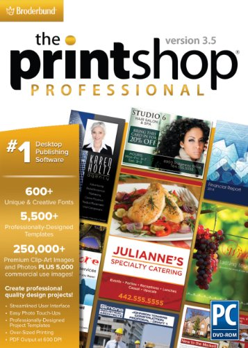 The Print Shop Professional 3.5 Windows 36430