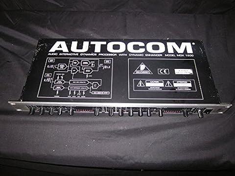 Behringer Autocom MDX-1200 2-Channel Expander Gate Compressor Enhancer Rackmount (Behringer Autocom)