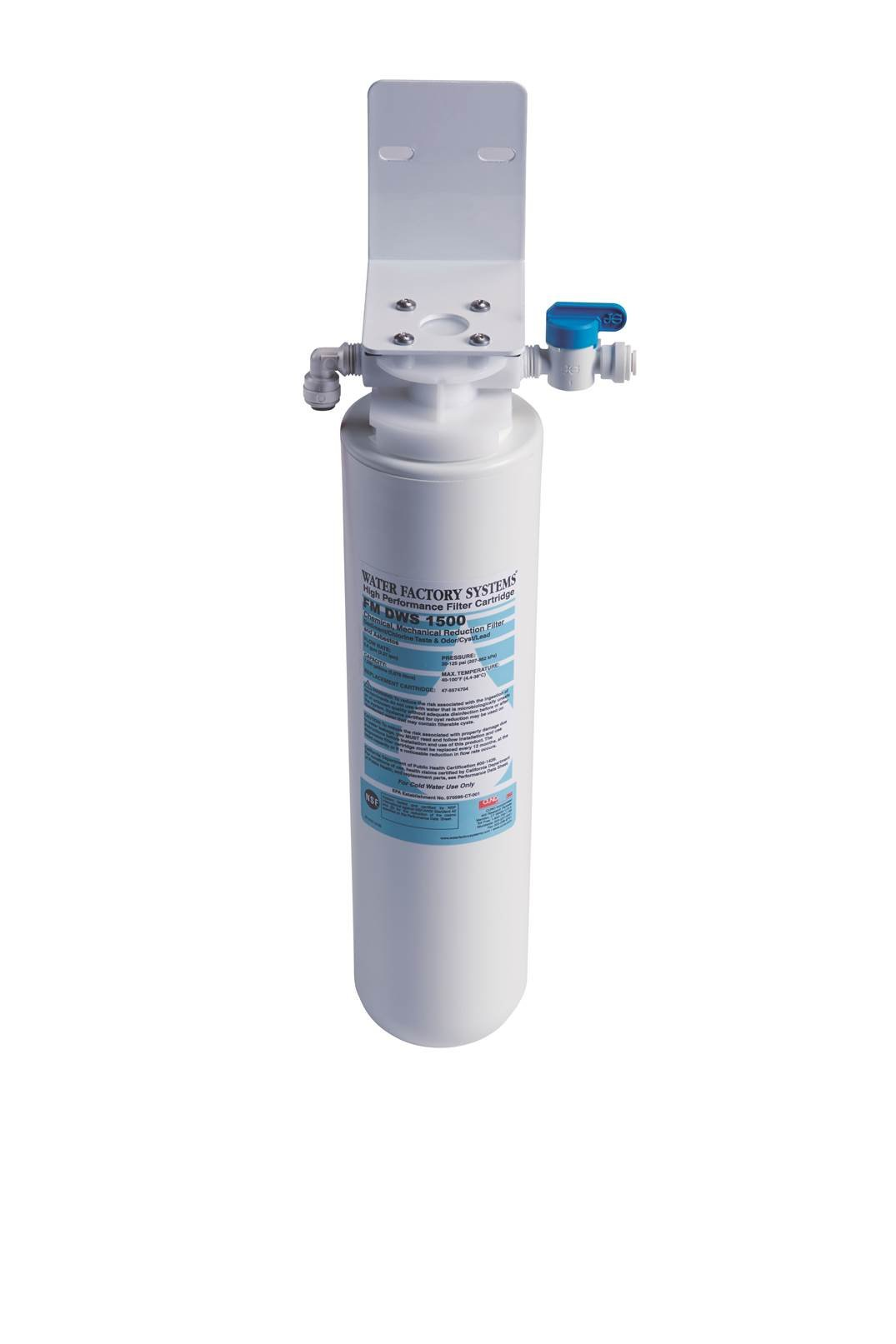 Waste King FM DWS 1500 ClearWater 1500 Gallon Single Cartridge Filtration System