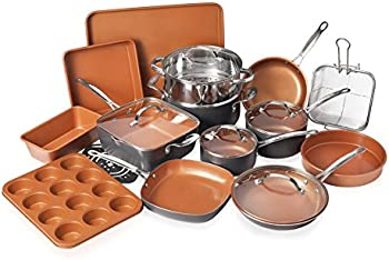 Gotham Steel 20-Piece All-in-One Kitchen Cookware and Bakeware Set