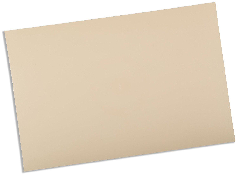 Rolyan Splinting Material Sheet, Ezeform, Beige, 1/8'' x 18'' x 24'', Solid, Single Sheet by Cedarburg