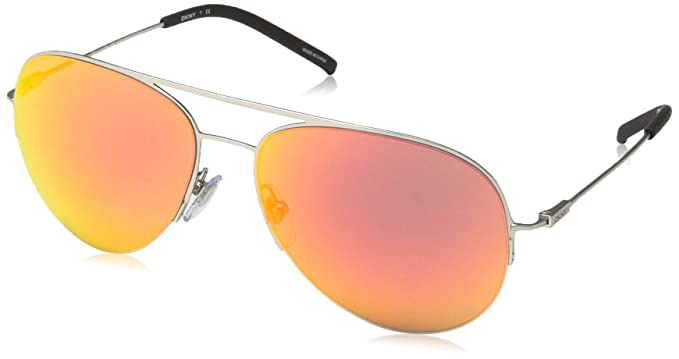 DKNY 0Dy5080, Gafas de Sol para Mujer, Matte Silver, 0 ...
