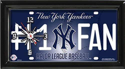 GTEI MLB New York Yankees Wall Clock