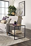 ClosetMaid 1314 2-Tier Square Wood Side Table