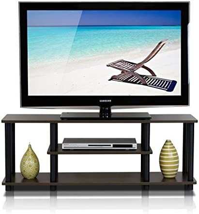 home, kitchen, furniture, living room furniture, tv, media furniture,  television stands, entertainment centers 3 discount Furinno Turn-N-Tube 3-Tier Entertainment TV in USA