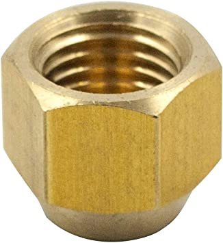 1//4 Tube OD Cap Anderson Metals 54040 Brass Tube Fitting