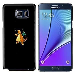 """Be-Star Único Patrón Plástico Duro Fundas Cover Cubre Hard Case Cover Para Samsung Galaxy Note5 / N920 ( Dragonite P0kemon"""" )"""