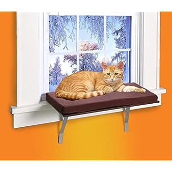 Amazon Com Kleeger Cat Window Perch Seat Sunny Kitty