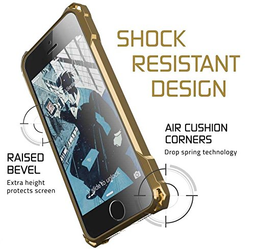 Ghostek Covert Protective Case Apple iPhone 5/5S/SE Gold