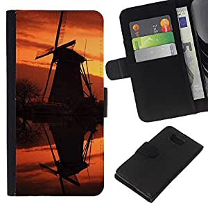 All Phone Most Case / Oferta Especial Cáscara Funda de cuero Monedero Cubierta de proteccion Caso / Wallet Case for Samsung ALPHA G850 // Sunset Beautiful Nature 92