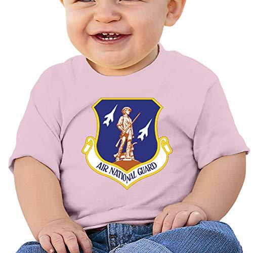 - UASF Air National Guard Tnfant Toddler T-Shirt Boys Girls Tee Pink