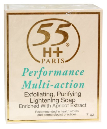 55H+ Performance Multi-Action Exfoliating Purifying Lightening Soap 7 oz.