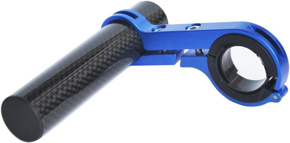 Extensor de Manillar de Fibra de Carbono Abrazadera de Bicicleta de aleaci/ón de Aluminio Soporte de Montaje para Bicicleta
