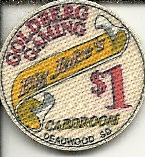 - $1 goldberg gaming casino deadwood colorado obsolete casino chip