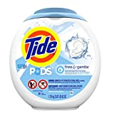 Tide Laundry Detergent Pods, Free & Gentle, 81