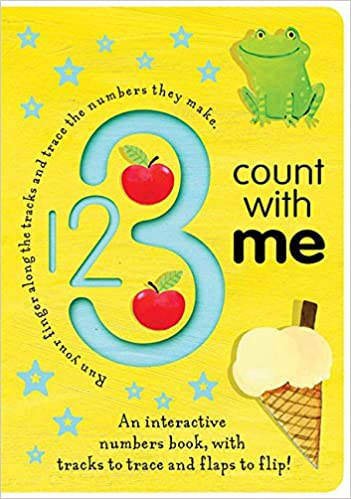 Amazon.com: 1 2 3 Count with Me (Trace-and-Flip Fun ...