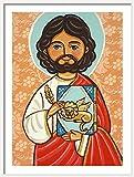 Saint Mark print St Mark print St Mark painting Saint Mark painting Saint picture Catholic art Catholic saint print Catholic painting Children patron saint Christening gift Jesus apostle Evangelist
