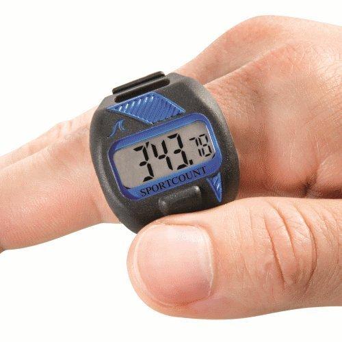 32 opinioni per Cronometro con contavasche da dito per nuoto Combo- BLU