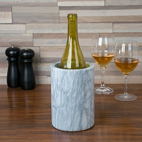 American Metalcraft MWC57 White Marble Wine Cooler ()