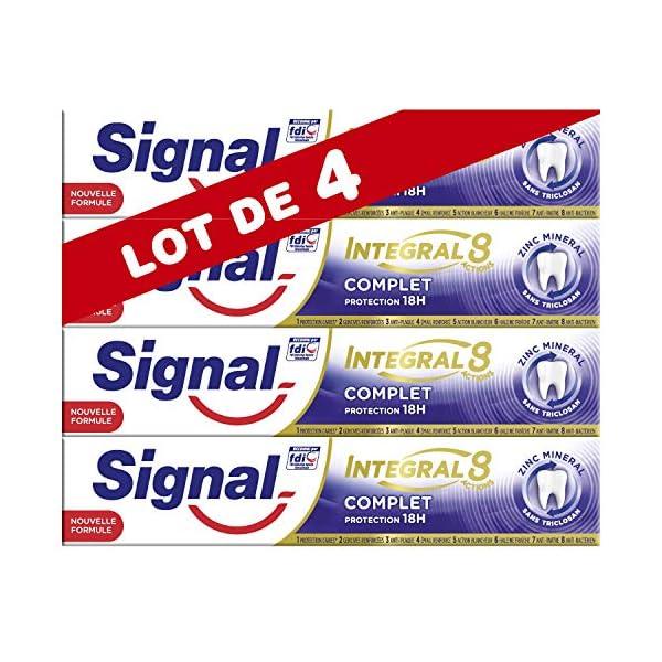 Signal Dentifrice Integral 8 Complet (Lot de 4x75ml)