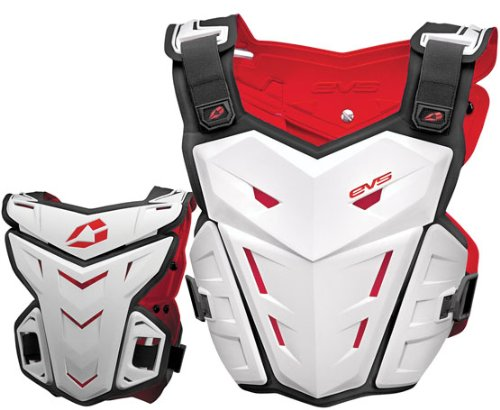 Evs F1 Chest Protector (EVS F1 Youth White Chest Protector - Youth)