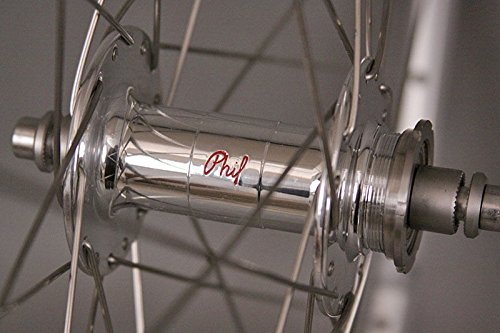 Phil Wood High Flange Hubs Mavic Open Pro Rims Track Bike Wheels Wheelset DT