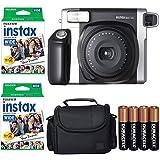 Fujifilm INSTAX 300 Photo Instant Camera With Fujifilm Instax Wide Instant Film Twin Pack Instant Film (40 Shots) + Camera Ca