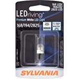 SYLVANIA 168/194/2825 LED Premium White Miniature Bulb, (Pack of 1)