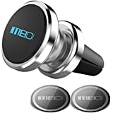 Air Vent Phone Holder, MEIDI Universal Magnetic Phone Car Mount 360 Rotation Cell Phone GPS Holder Compatible iPhone Samsung HTC and Mini Tablets(Silver)