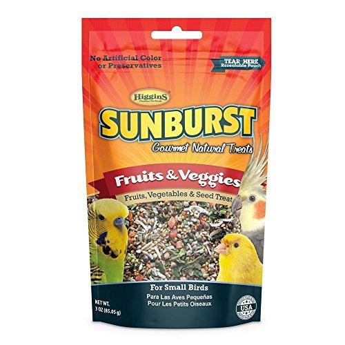Higgins Group 466017 Sunburst Fruit/Vegetable Small 3 oz Treat, 1Count, One Size
