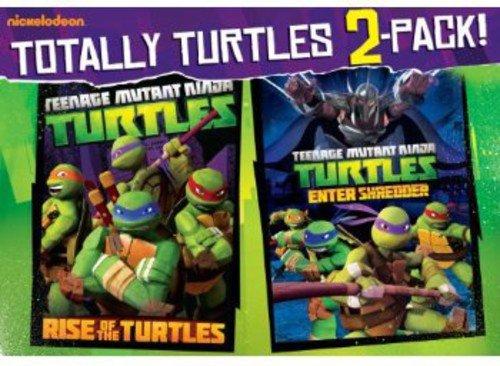 DVD : Teenage Mutant Ninja Turtles: Rise Of The Turtles / Enter Shredder (Gift Set, Shrink Wrapped, Widescreen, 2 Pack, Sensormatic)