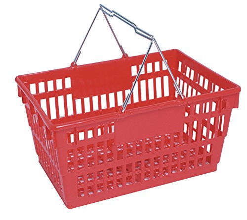 Winholt LSB-1RD Customer Shopping Super Sani-Basket, 13
