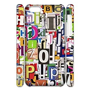 Letter 3D-Printed ZLB562956 Custom 3D Phone Case for Iphone 5C