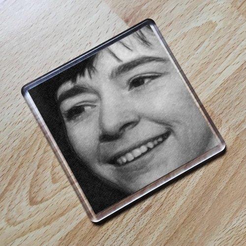 JACKIE LANE - Original Art Coaster #js001