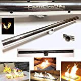 EasyFirePits Lifetime Warranted 316 Stainless Gas T-Burners for Fire Pit/Fire Tables (12.0, 12.0)
