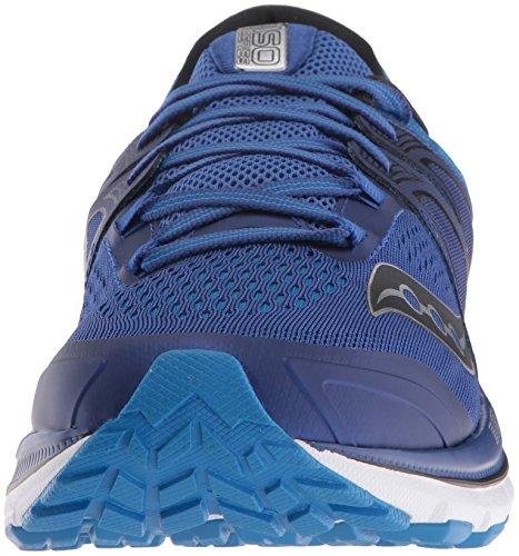 Saucony Triumph Iso 3, Zapatillas de Running para Hombre, Verde Varios colores (Azul Oscuro / Azul / Blanco / Plata)