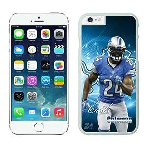 Detroit Lions Erik Coleman Case For iPhone 6 White 4.7 inches
