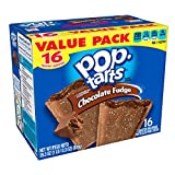 Pop-Tarts Breakfast Toaster Pastries, Frosted Chocolate Fudge Flavored, Value Pack, 29.3 oz (16 Count)