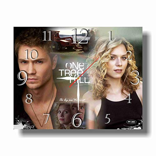 Art time production One Tree Hill 11.8'' Handmade Unique Wall Clock - Get Unique décor for Home or Office - Best Gift Ideas for Kids, Friends, Parents (One Tree Hill Best Show Ever)