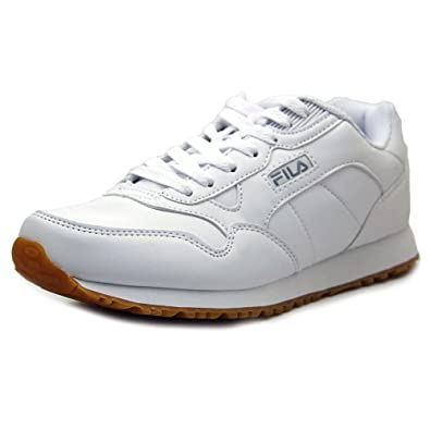 Fila Mens Cress Athletic Sneakers, White, ...