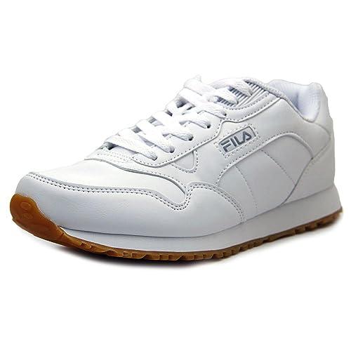 Fila Cress Hombre US 8.5 Blanco Zapatillas: Amazon.es: Zapatos y complementos